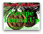Find more great holiday recipes at Just the Right Spice for the Recipe Roundup
